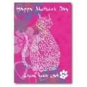 Jour de mères heureux de votre chat