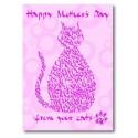 Feliç Dia de la Mare De Les seves Gats