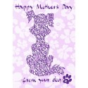 Feliç dia de la mare del seu gos