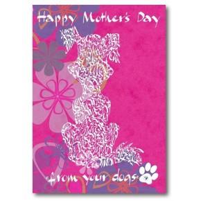Hyvää äitienpäivää koiriltasi