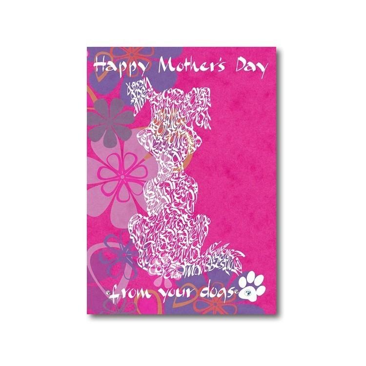 Lycklig mors dag från dina hundar