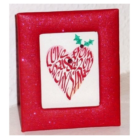 Mini Weihnachtsherz-Bilder