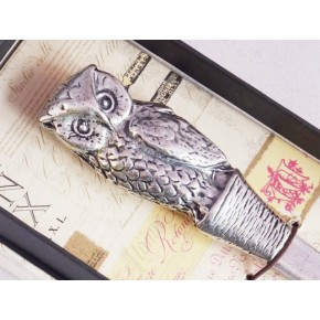 Owl Pewter Letter Opener