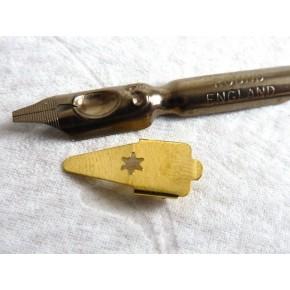 Runda Hand kalligrafi spetsar och reservoarer