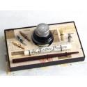 Dip de madera Pen 5 Semillas grande Tinta