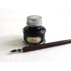 Dip legno Pen 5 Pennini Large Ink
