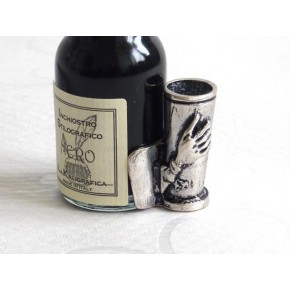 Silverfjäder - kalligrafipennuppsättning