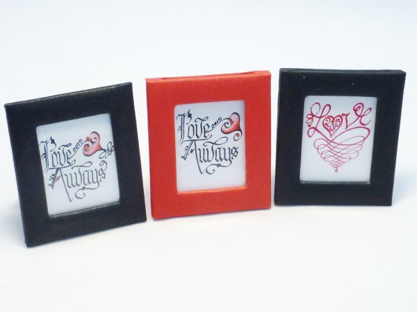 Love Always Mini Pictures - Great for Valentines Day
