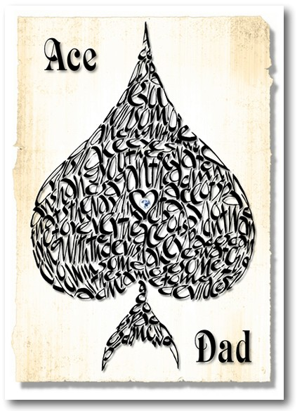 Ace Dad father's day card