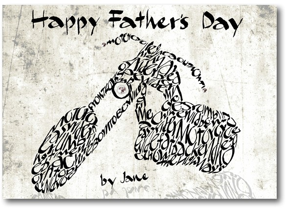 Father's Day Chopper Card