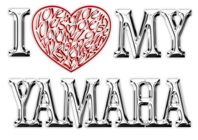 I Love (Heart) My Yamaha