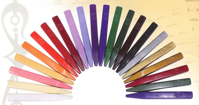 Bortoletti Wax Seal Sticks - available in 22 colours