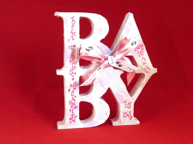 Baby Girl - Personalised