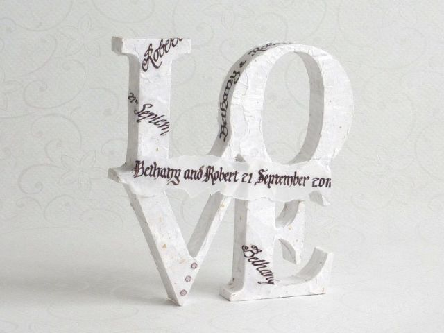 Another Gift of Love calligraphy figure