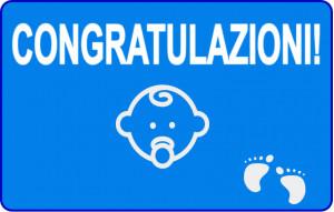 Congratulazioni ragazzino
